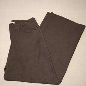 Charcoal Max Studio wide leg trousers, size 12